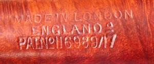 PARKER SUPER BRUYERE 191/F MADE IN LONDON ENGLAND 0 PAT.N° 116989/17