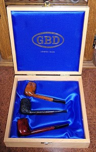GBD CANADIAN MADE IN LONDON ENGLAND